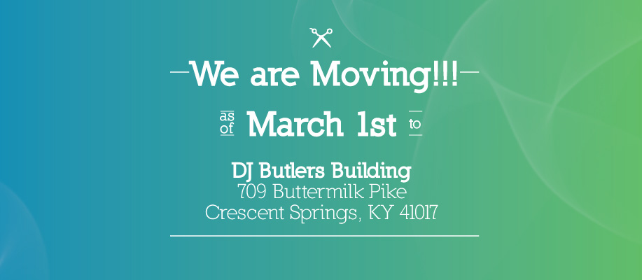 As of March 1st, Ashley and Kristin will both be working at a new location less than 1 mile west...